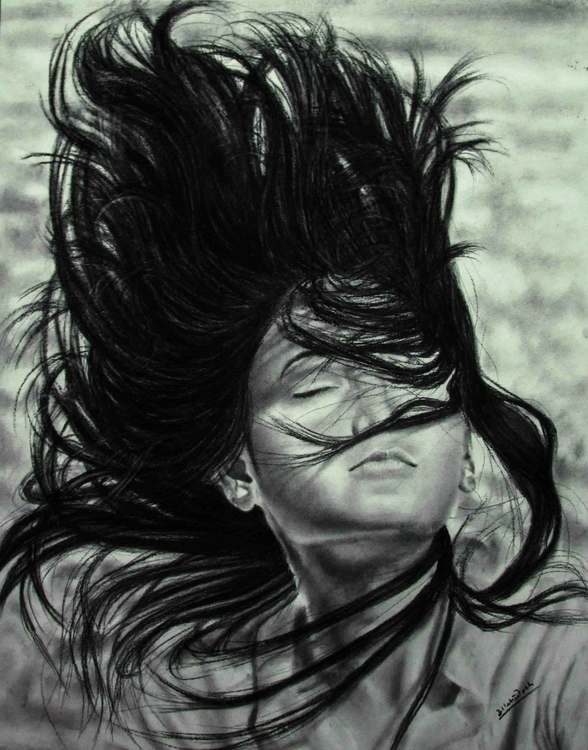 illustration, painting, charcoal - ashutosh-1060 | ello