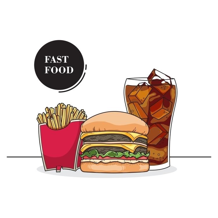 Fsst Food - illustration, animation - aribowoady | ello