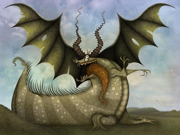 Dragon - dragon, eliran, eliranbichman - eliran_bichman   ello