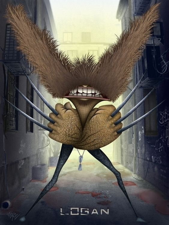 Wolverine. James Logan Howlett - eliran_bichman | ello