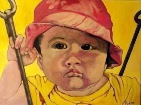 Swing Lucian Acrylic Canvas 18  - artenvy | ello
