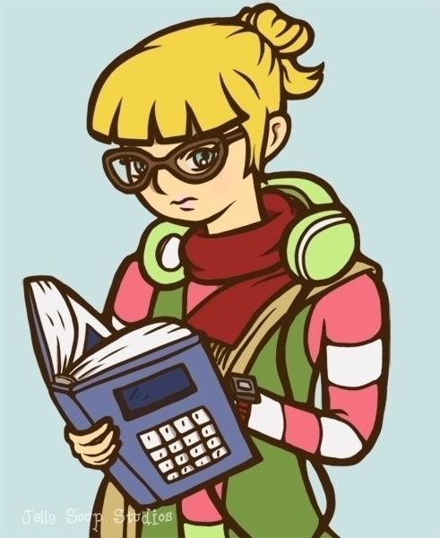 Penny Inspector Gadget. bit old - jellysoupstudios | ello