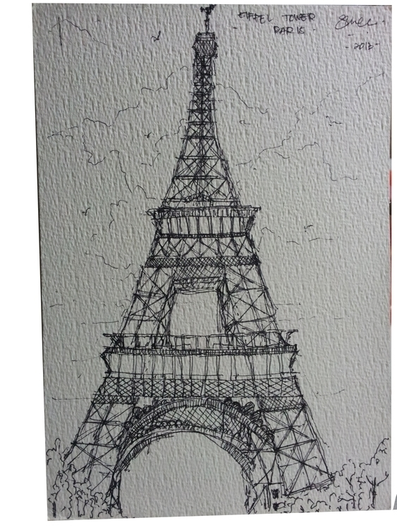 EIFFEL TOWER,PARIS - architecture - suraiyashahid | ello