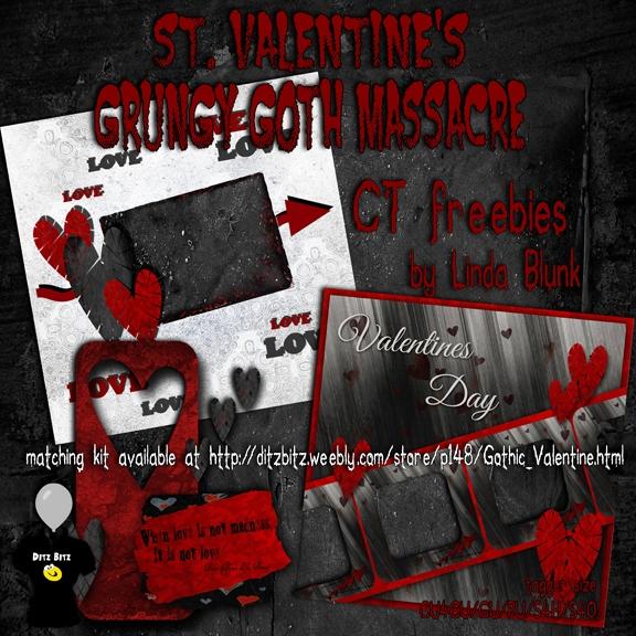 freebies kit, St. Grungy Goth M - ditzbitz | ello