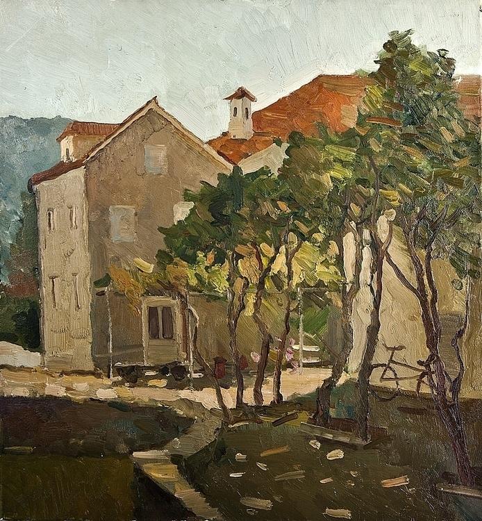 Montenegro, 60/70, canvas / oil - antonbogatov | ello