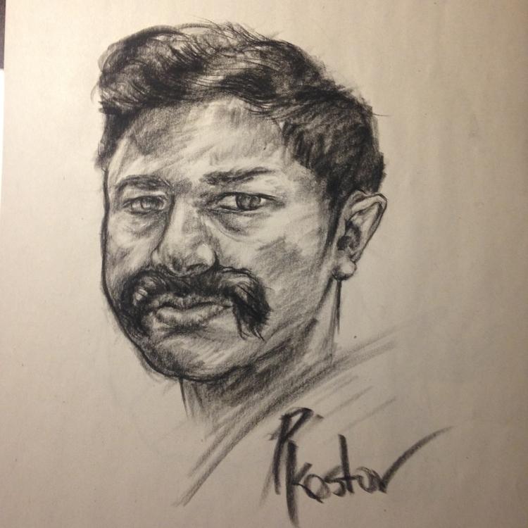 Beardy Gheertan - drawing, illustration - preslavkostov   ello