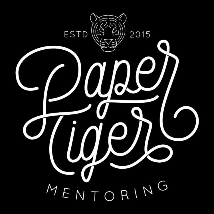 Paper Tiger Mentoring - handlettering - lettershoppe | ello