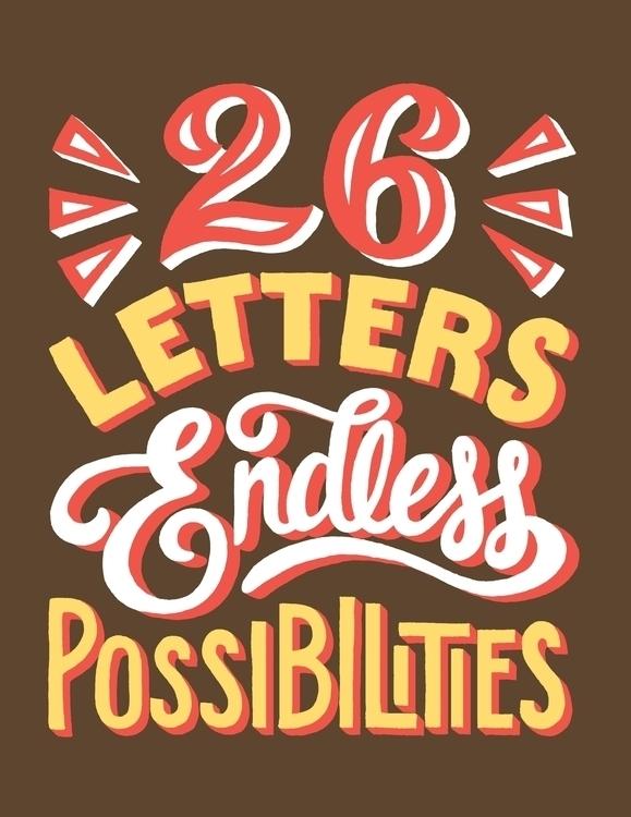 26 Letters - handlettering, lettering - lettershoppe | ello