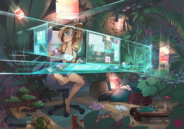 Studio 2042 - studio, futuristic - liea-7253 | ello