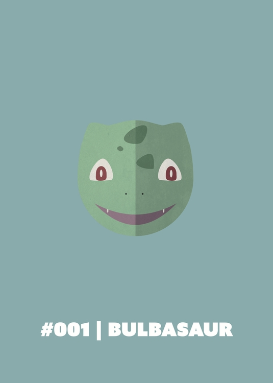 | Bulbasaur - 001, illustration - benalex94 | ello