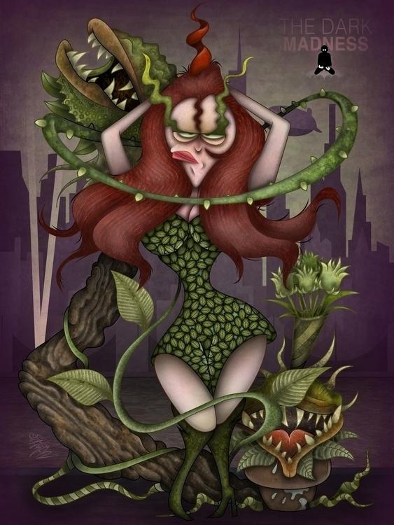 Poison Ivy - PoisonIvy, ivy, dccomics - eliran_bichman | ello