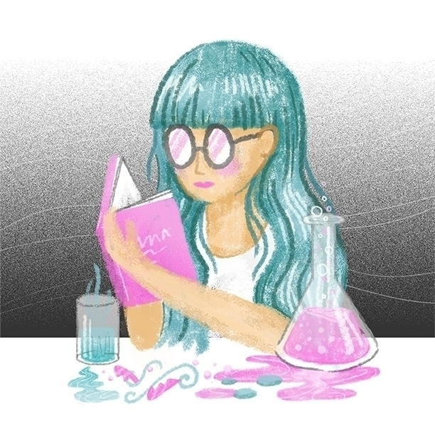 illustration, love, potion, potions - stephaniekubo-8873 | ello