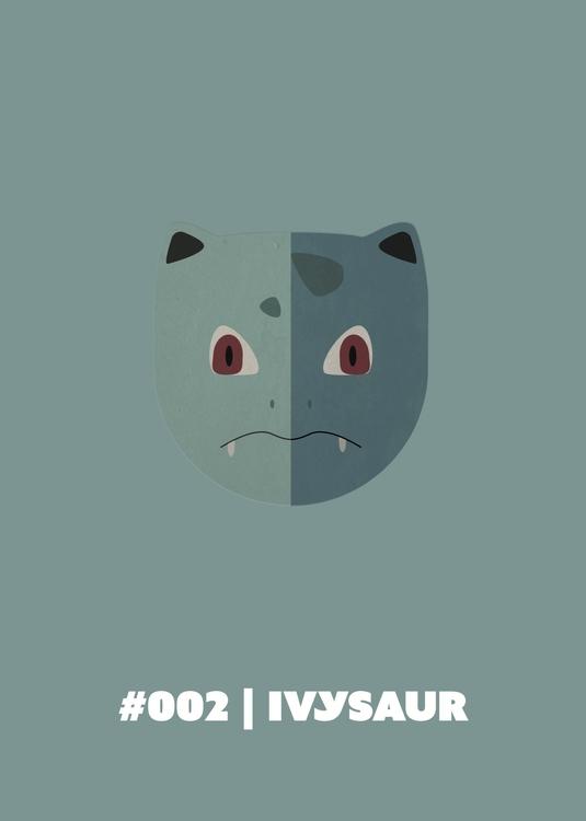 | Ivysaur - 002, illustration, characterdesign - benalex94 | ello