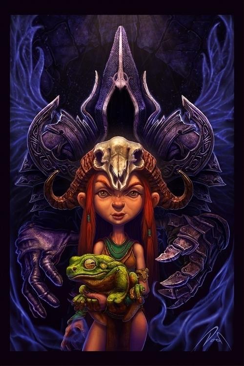 created piece Diablo 3- Reaper  - dobsun | ello