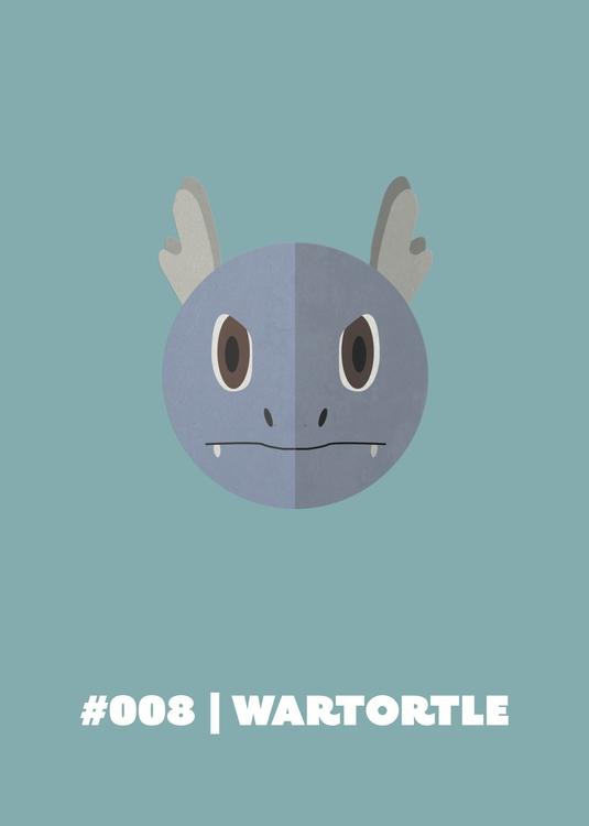 | Wartortle - 008, gameart, illustration - benalex94 | ello