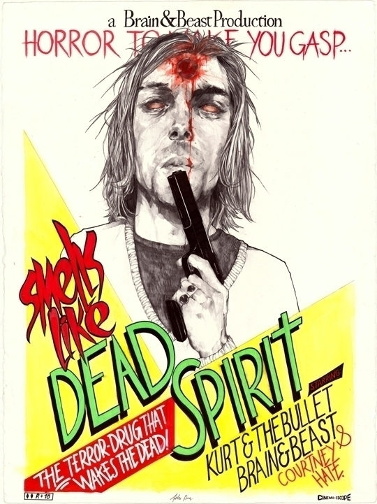 DeadKurt - fashion, illustration - felixroca | ello
