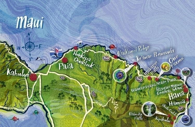 Map Maui - maps - nowen-1067 | ello