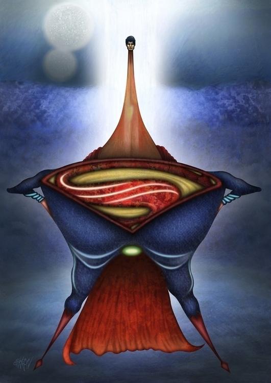 Man Steel - ManofSteel, superman - eliran_bichman | ello