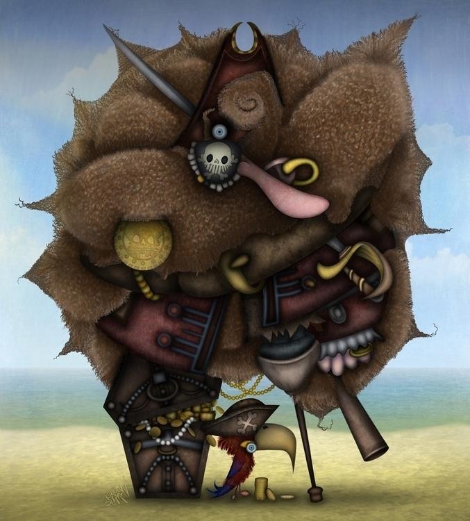 Pirate - pirate, eliran, eliranbichman - eliran_bichman | ello