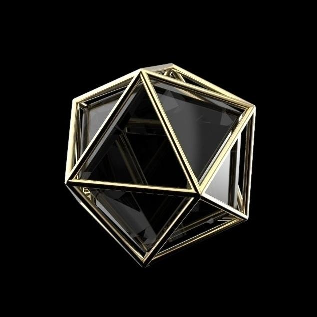 Icosaedro - 3d, 3dmodel, icosahedron - frankreyes | ello