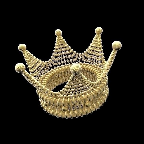 Crown - crown, corona, render, gold - frankreyes | ello