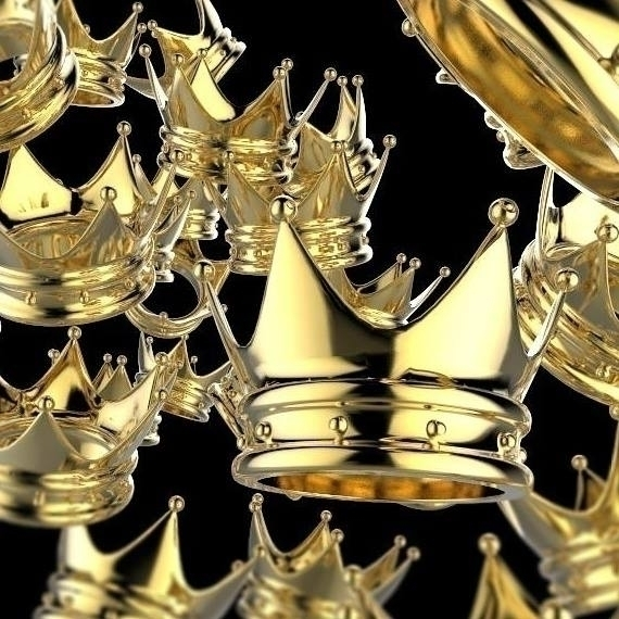 Gold Crowns - crown, crowns, corona - frankreyes | ello