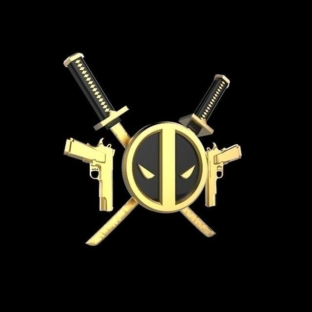 Deadpool armor - deadpool, gold - frankreyes | ello