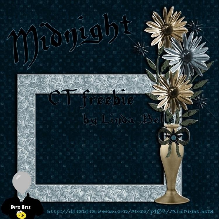 freebie frame kit, Midnight - midnight - ditzbitz | ello