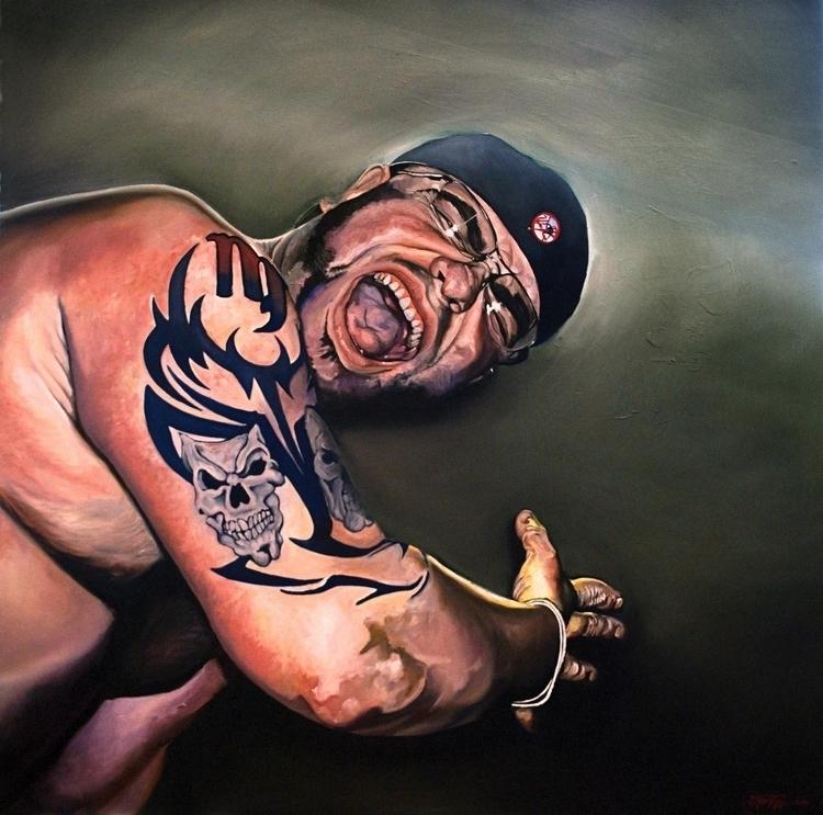 RAGE: Ariel - painting, illustration - cjrosenthal | ello