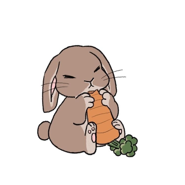 Bunny - illustration, characterdesign - eunice-3818   ello