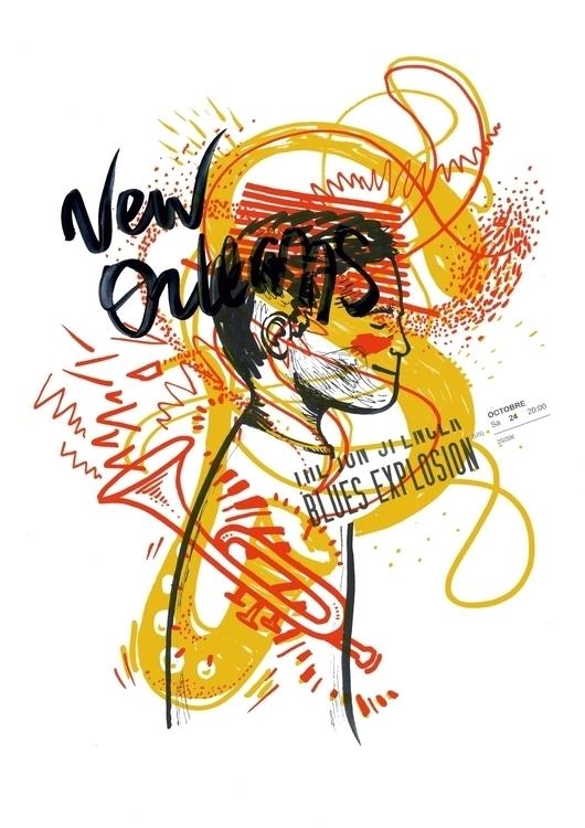 art, drawing, music, jazz, blues - hova-4150 | ello