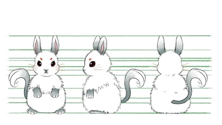 Mi-hoo - illustration, characterdesign - eunice-3818 | ello