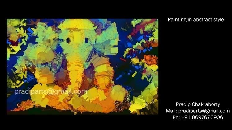 Ganesha. Digital painting. High - pradiparts | ello
