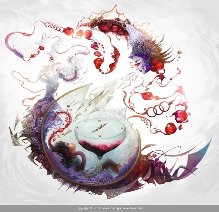 illustration Veneration Kingdom - kseniyalvova | ello