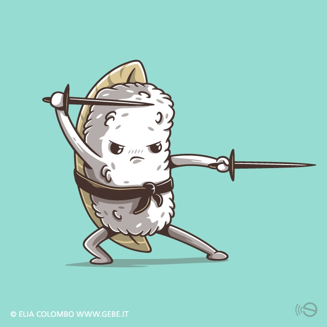 eat - illustration, food, sushi - gebe-4724 | ello
