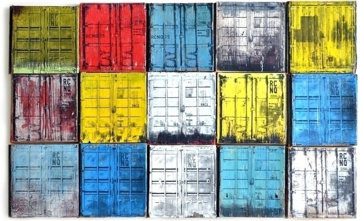 Containers. Transfer/Paint recy - reconq | ello