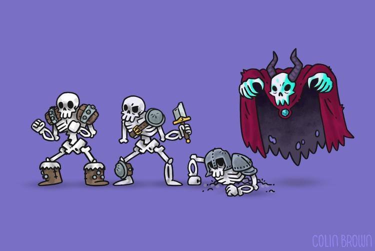 squad - illustration, characterdesign - colinbrown-7810 | ello