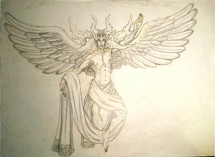 Lux - drawing - nogui-5722 | ello