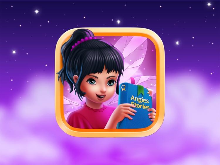 IOS icon app Angies Story - zaibsali | ello