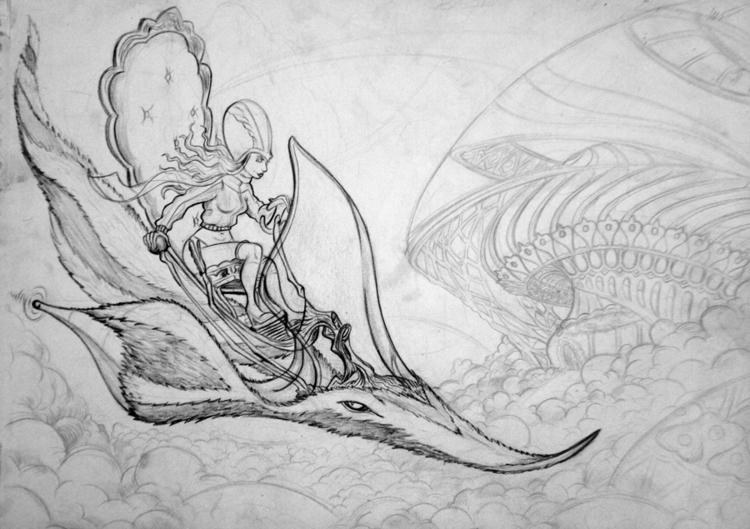 Carda Ramesh - drawing - nogui-5722 | ello