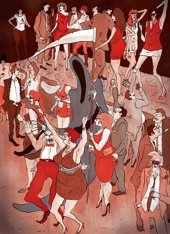 Spoilsport - illustration, characterdesign - scabotba | ello
