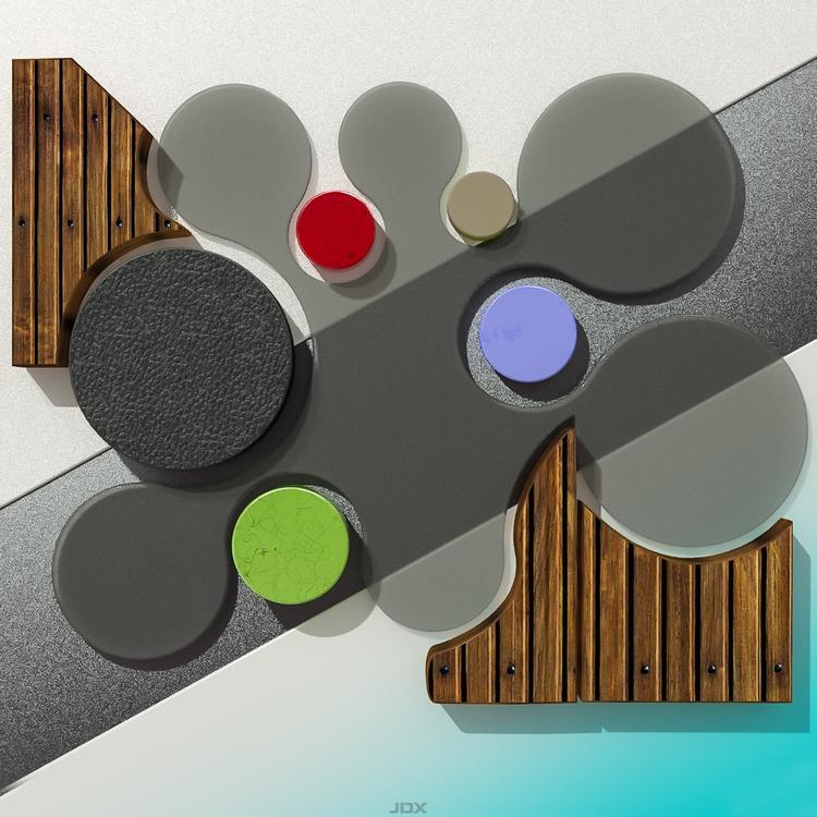 Abstract Day Art 7 - abstract, digitalart - jdx-1450 | ello
