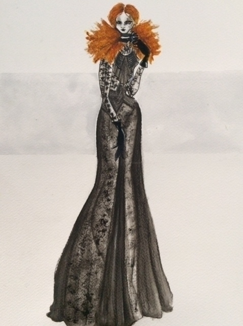 Fashion Illustration - Maison M - chiaraiacobelli | ello