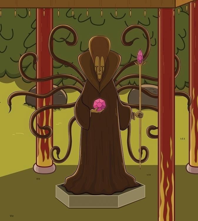 Shrine (27/11/2015 - illustration - ricardovalente | ello