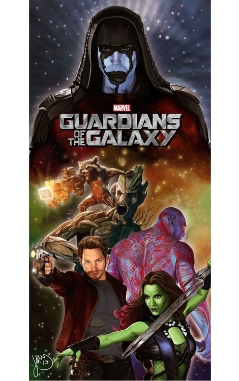 poster Guardians Galaxy - guardiansofthegalaxy - hellonsy | ello