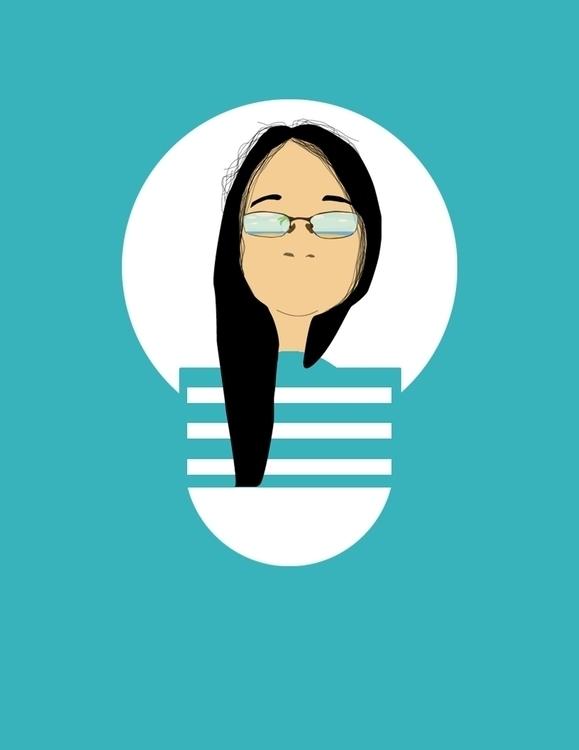 Portrait - #vector, #digitalart - fatimaongleo | ello
