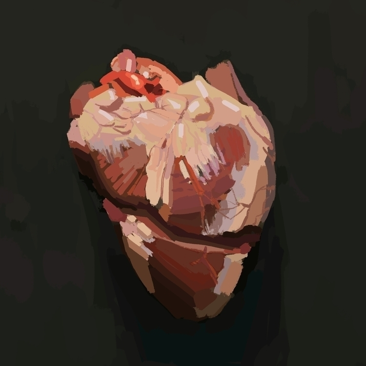 Color study painting - art, digital - aeryel | ello