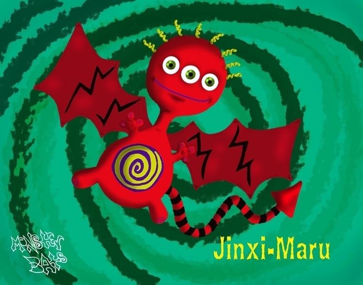 Jinxi-Maru: Monster Bats - characterdesign - staciearguello-clements | ello