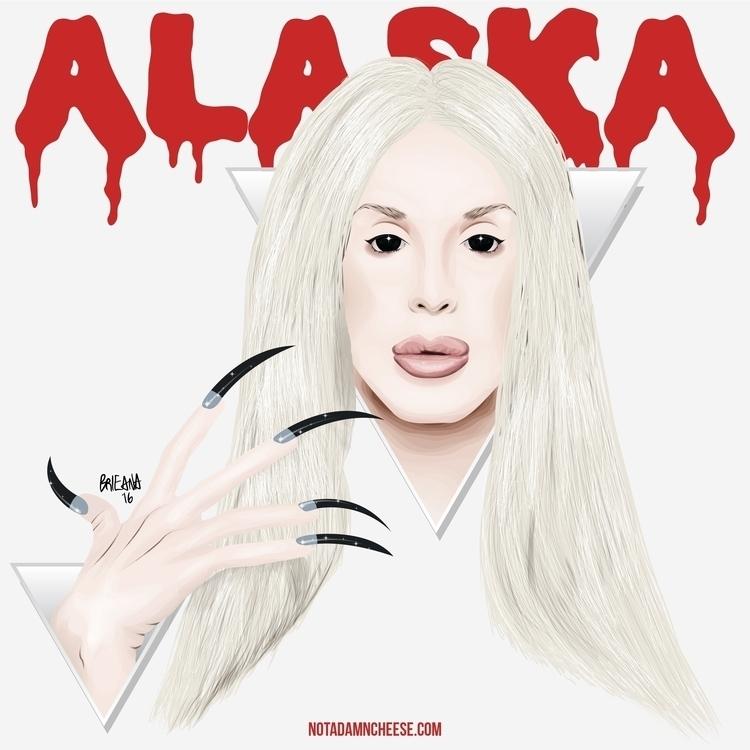 Vector Illustration - alaska, alaskathunderfuck - brieana | ello