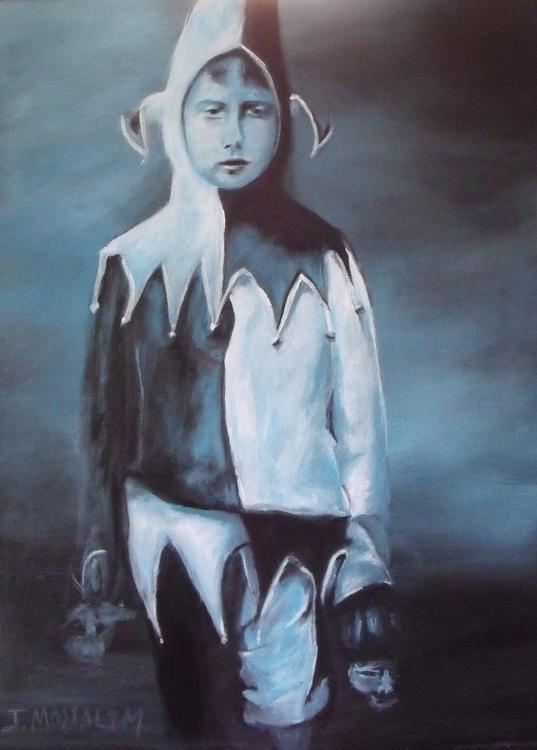 Jester acrylic canvas - jimoss31 | ello